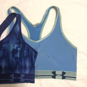 Bundle of two under armour sports bras